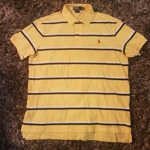 Nice Yellow Ralph Polo Shirt